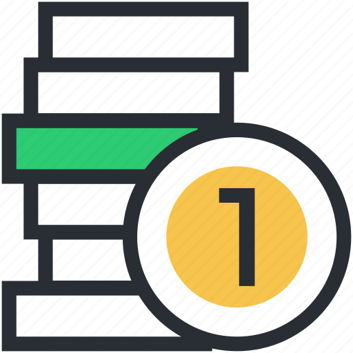 currency, currency notes, currency stack, notes bundle icon