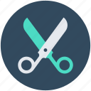 discount offer, offer, promotional offer, scissors, shears icon