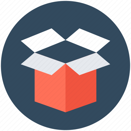 box, cardboard box, delivery box, package icon