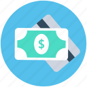 banknote, cash, paper money, payment, plastic money icon