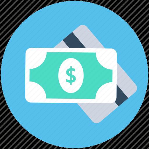banknote, cash, paper money, payment, plastic money icon