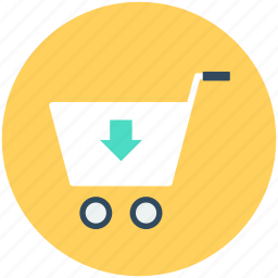 add to cart, ecommerce, online shopping, shopping, shopping cart, shopping trolley icon