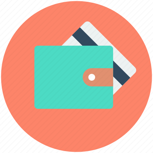 billfold wallet, card holder, plastic money, purse, wallet icon