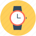 time, timepiece, timing, watch, wrist watch icon