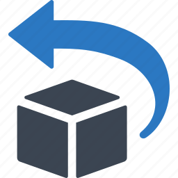 box, package, return, returns, shipping icon