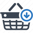 buy, ecommerce, shopping basket icon