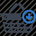 shopping basket, buy, ecommerce