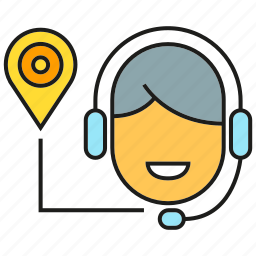 call center, chat, customer sevice, headphone, supporter, talking, tracking icon