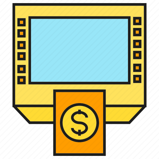 atm, bank, finance, money, money machine, payment icon