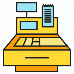 cashier, payment, shop, shopping, store icon