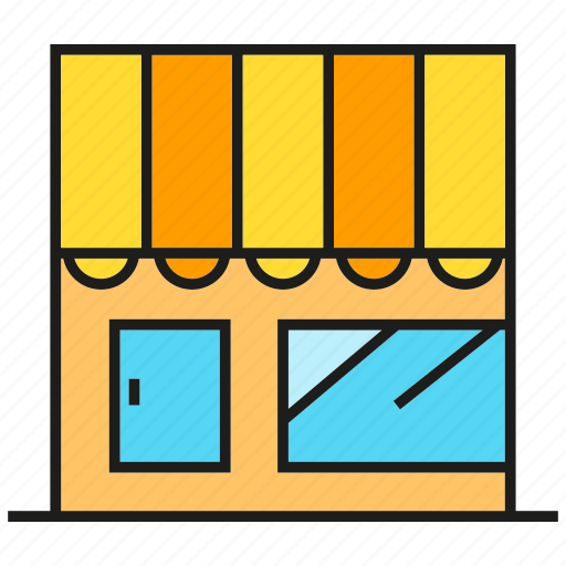 building, commercial, shop, store, trade icon