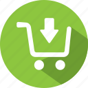 buy, cart, download, purchase, shop, shopping icon
