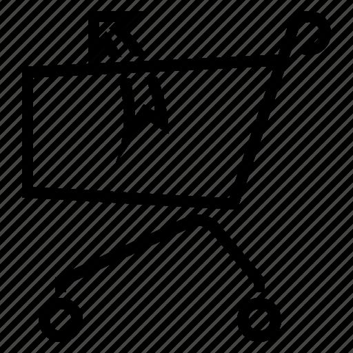 basket, buy, return, shop, shopping, trolley icon