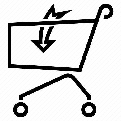 add, buy, purchase, shop, shopping, trolley icon