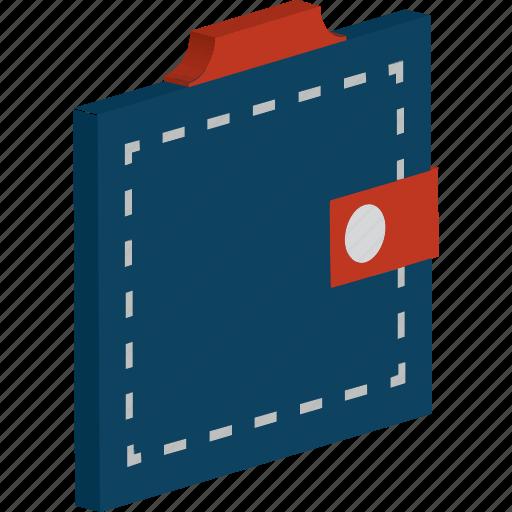 billfold wallet, card holder, cash wallet, purse, wallet icon