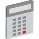 accounting, calculator, calculating device, digital calculator, office supplies icon