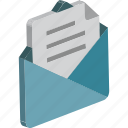 airmail, correspondence, documents, email, envelope, letter, post envelope icon