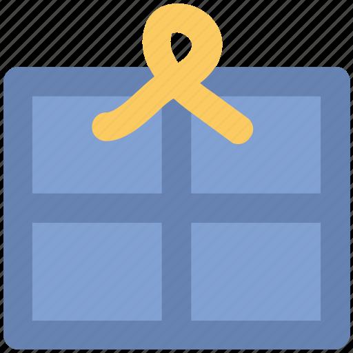 box, pacakge, ribbon icon