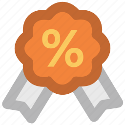 award, economy, offer, percentage, prize, sale, sale badge icon