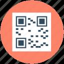 barcode, matrix barcode, qr code, quick response code, upc barcode icon