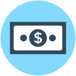 banknote, currency, currency note, paper money, paper note icon