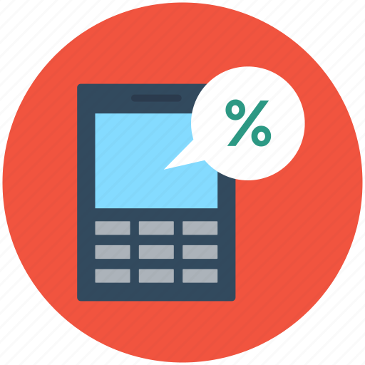 calculator, discount, percentage, price off, sale offer icon