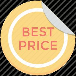 badge, best offer, best price, offer, price sticker icon