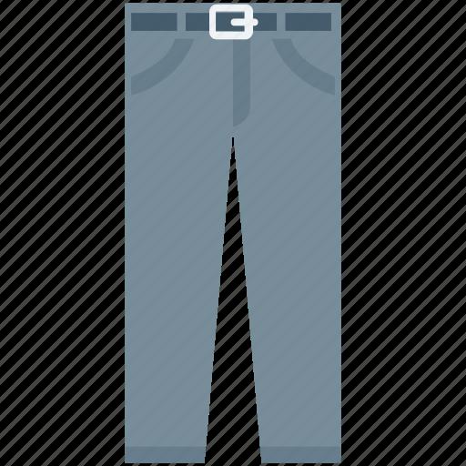 apparel, garment, pants, sweatpants, trousers icon