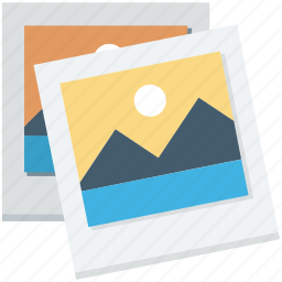 landscape, mountains, photo, picture, scenery icon