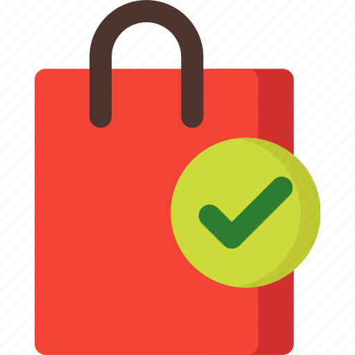 Bag, checked, shopping, market, shop, store icon - Download on Iconfinder