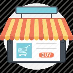 buy online, online shop, online shopping, shopping cart, shopping website icon