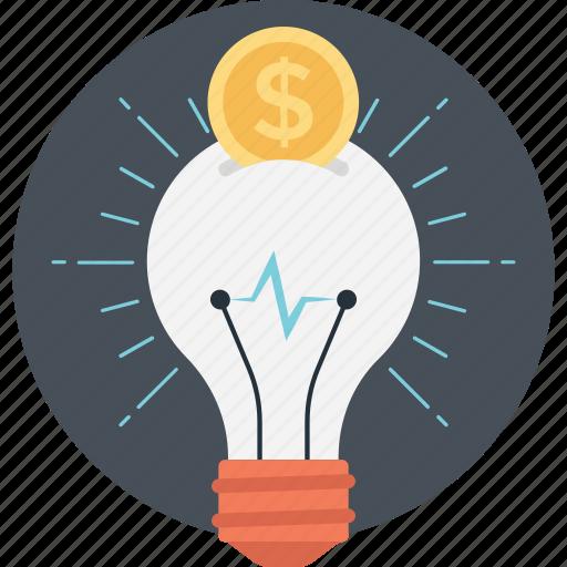 advertising concept, innovation, marketing idea, money idea, savings icon