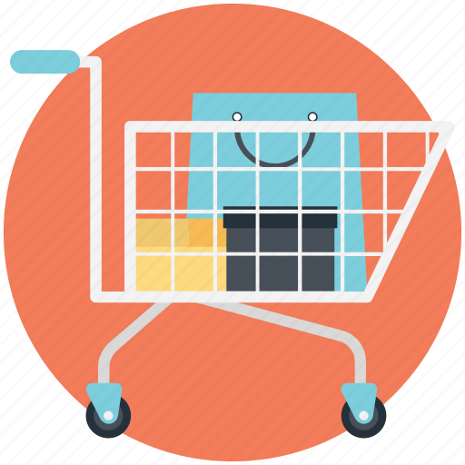 Buy online, ecommerce, online shopping, shopping cart, shopping trolley icon - Download on Iconfinder