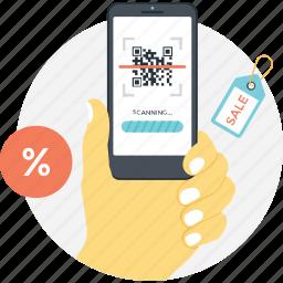 matrix code, mobile qr code, price code, qr code, qr scanner icon