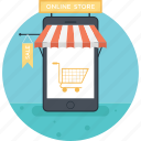 buy online, mobile shopping, online shopping, shopping app, shopping cart icon