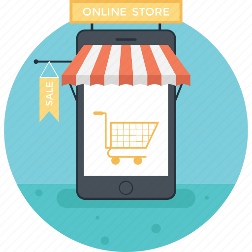 buy online, mobile shopping, online shopping, shopping app, shopping cart icon
