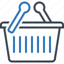 basket, box, cart, shopping icon