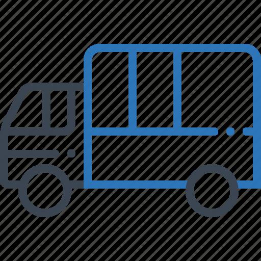 logistics, transport, transportation, truck icon