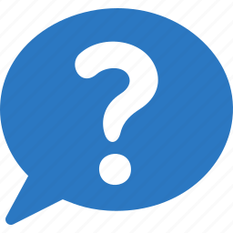 comment, customer service, customer support, faq, information, question icon