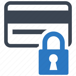 credit card, ecommerce, safe, secure payment, shopping icon