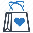 ecommerce, gift, present, shopping bag icon