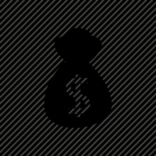 money, money bag, retail, sack, sale, shopping, store icon