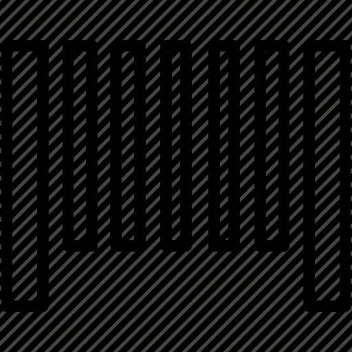bar, bar code, barcode, code icon