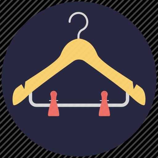 closet, clothes hanger, dress hanger, hanger, wardrobe icon
