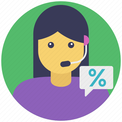 call operator, customer care, ecommerce, online discounts, online sale icon