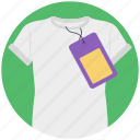 buy shirt, clothing, price tag, shirt for sale, shopping icon