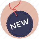 branding, new label, new product, new sticker, tag icon