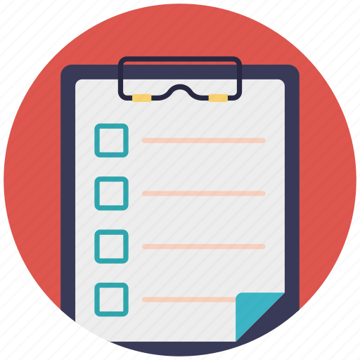 approved list item, checked task list, checklist, product list, work management icon
