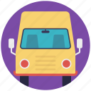 bus, coach, public transportation, travel, vehicle icon