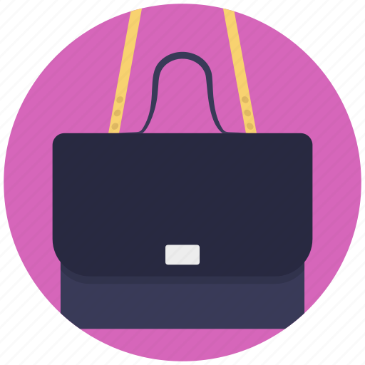 fashion, handbag, purse, shoulder bag, women bag icon